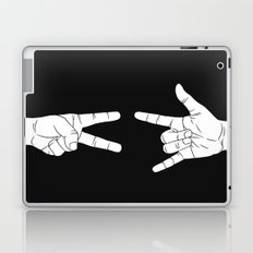 Peace Love and Rock N Roll Laptop & iPad Skin