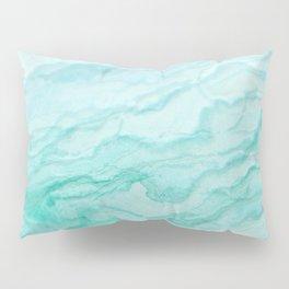 Ocean Blue Marble Texture Kissenbezug