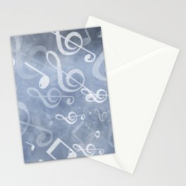 DT MUSIC 10 Stationery Cards