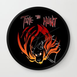 Smite - Time To Hunt Wall Clock
