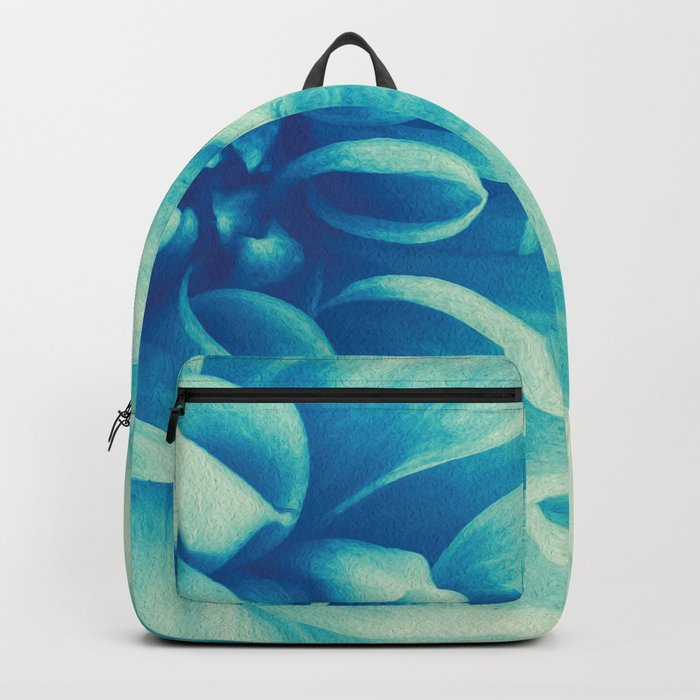 Blue Beauty (Spring Blooming Dahlia) Backpack
