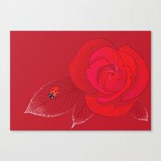 Rosa Ingrid Bergman Canvas Print