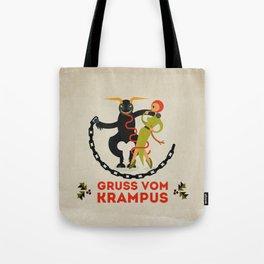 Gruss vom Krampus II Tote Bag