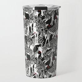 GIRAFFE / pattern pattern Travel Mug