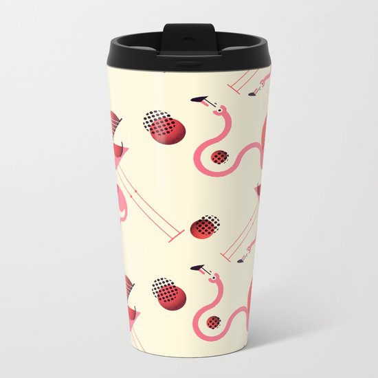 There are always coconuts for those who want to see them Metal Travel Mug