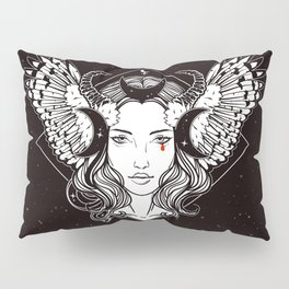 Lilith, Mistress of the Night Pillow Sham