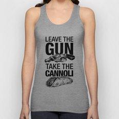 Leave the Gun Take the Cannoli Unisex Tank Top
