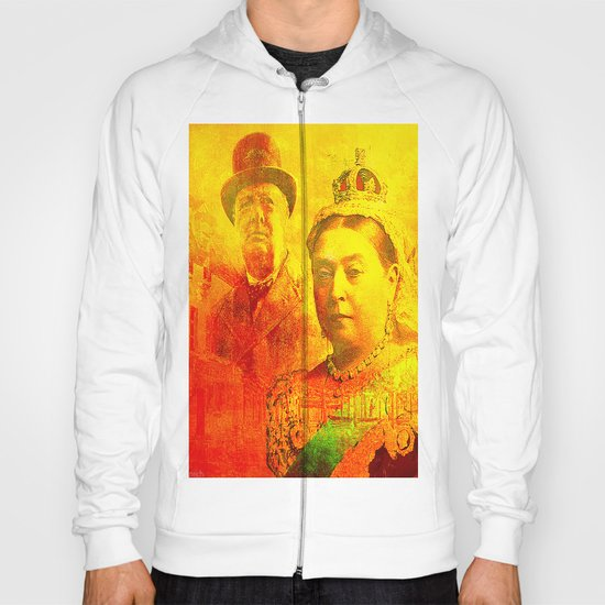 Queen Victoria and Churchill Hoody