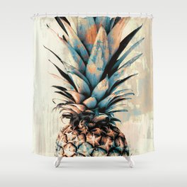 PINEAPPLE 3 Shower Curtain