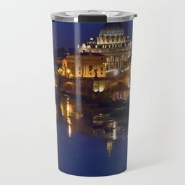St. Peter's Basilica in Rome Travel Mug
