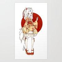 Kit Inari Art Print