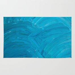 Blue Swipes Rug