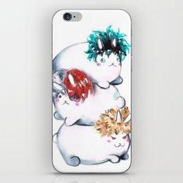 My Hero Academia MHA Kawaii Bunnies iPhone Skin