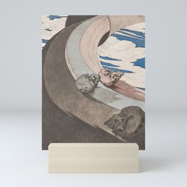 A Modern Dance of Death - Late 19th Century  Mini Art Print