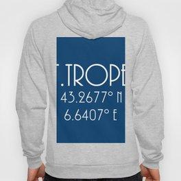 St. Tropez Latitude Longitude Hoody
