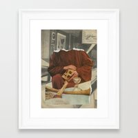 rare Framed Art Prints featuring RARE-BREEDS by Nicholas Lockyer