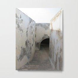 Underground Metal Print