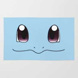 Great Face Of Squirtle Rug