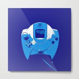 Sega Dreamcast controller Metal Print