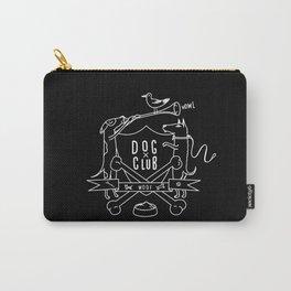 Dog Club B&W Carry-All Pouch