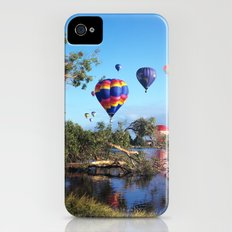 Hot air balloon scene iPhone (4, 4s) Slim Case