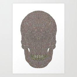Skull_n Art Print