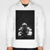 bane Hoodies featuring Bane by Sam Rowe Illustration