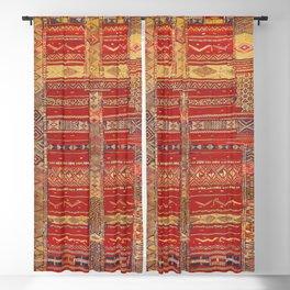 Heritage Moroccan Berber Artwork Design  Blackout Curtain