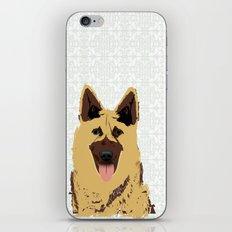 German shepherd Portrait iPhone & iPod Skin