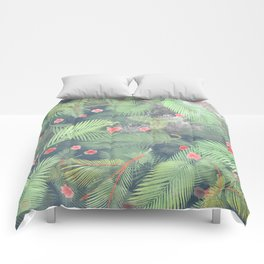 Fresh Summer Forest Comforters