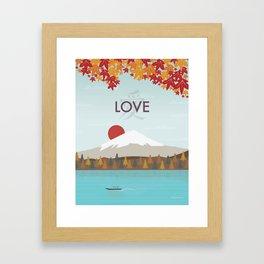 Love (Day) Framed Art Print
