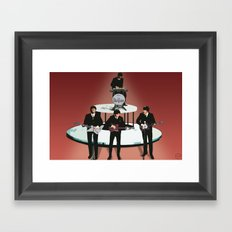 Rock Band Framed Art Print