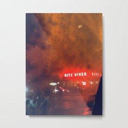 Ritz Diner New York City Metal Print