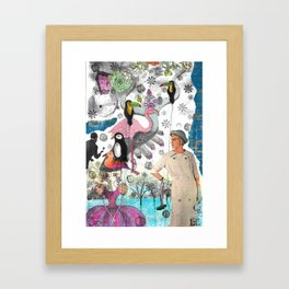 Collage I Framed Art Print