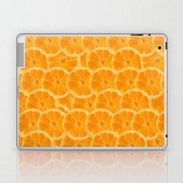 Orange Pattern Laptop & iPad Skin