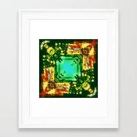 kerouac Framed Art Prints featuring jack kerouac -  by stoneRage