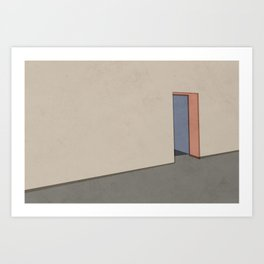 Empty Room no.04 - Lonely Spaces Art Print
