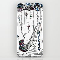 shoe iPhone & iPod Skins featuring Shoe by Kimberly McGuiness