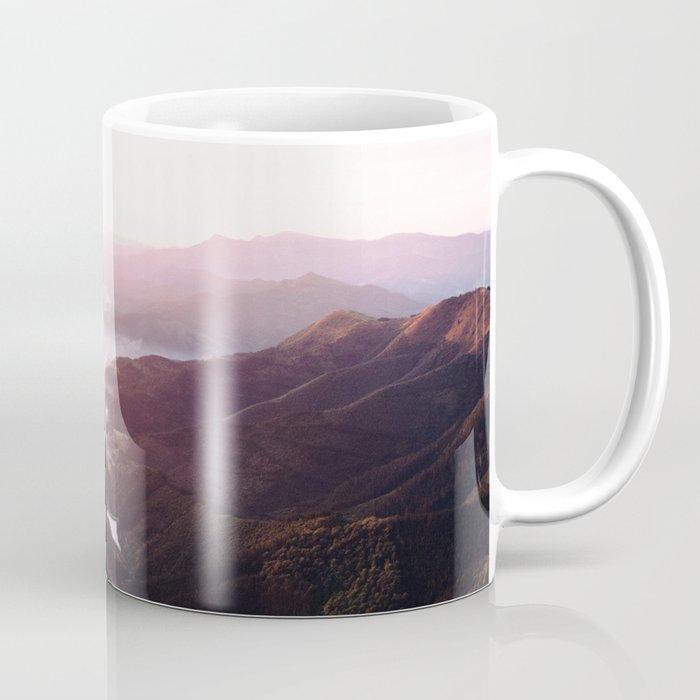 Morning Glory Mountain Landscape Coffee Mug