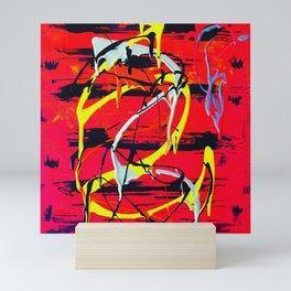 scrape Mini Art Print