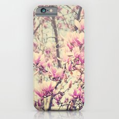 Magnolia Blossoms Early Spring Botanical Slim Case iPhone 6s