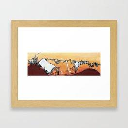 mpg Framed Art Print