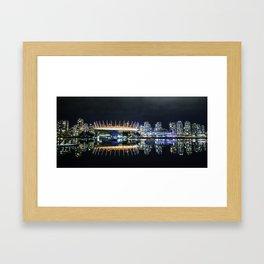 Vancouver Skylines Framed Art Print