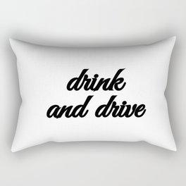 Bad Advice - Drink and Drive Rectangular Pillow
