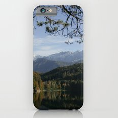 Hechtsee in the Brandenberger Alps, Tirol, color photo iPhone 6s Slim Case