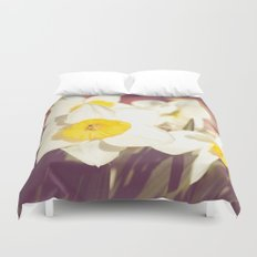 Daffodil flower Duvet Cover