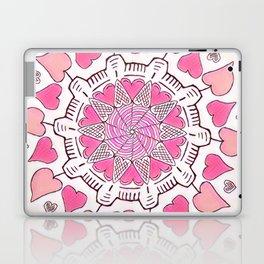 All Hearts - Pinkest Version Laptop & iPad Skin