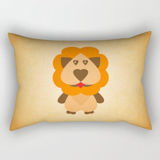 Lion Heart Rectangular Pillow