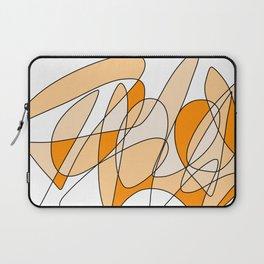 Orange Swirl Laptop Sleeve