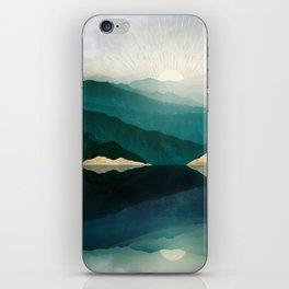 Waters Edge Reflection iPhone Skin